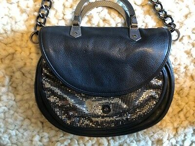 OROTON - USED Maille Silver Mesh Hand Bag