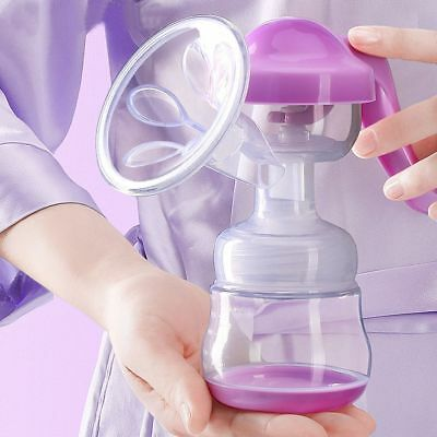 Massage Manual Breast Pump Feeding Bottle Milking Device Nipple Suction Pump
