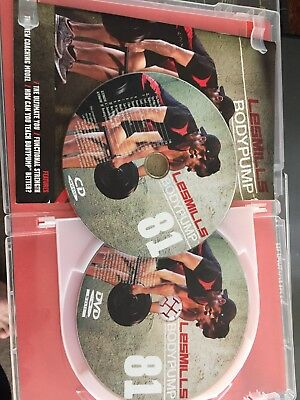 Les Mills Body Pump 81 Instructor Kit - DVD and CD - Excellent Condition