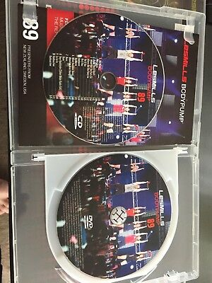 Les Mills Body Pump 89 Instructor Kit - DVD and CD - Good Condition
