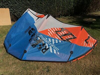 North Rebel Kite Set 7qm + Bar+ Bag Kitesurfen Anfänger Komplettset Kiteboarding