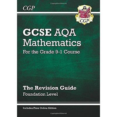 Gcse Maths Aqa Revision Guide: Foundation - for the Grade 9-1 Course (With On...