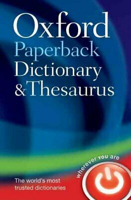 Oxford Paperback Dictionary and Thesaurus, Paperback by Waite, Maurice (EDT);...