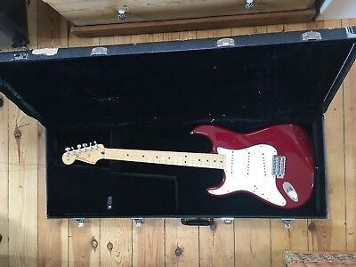 Left handed Mexican Fender Stratocaster