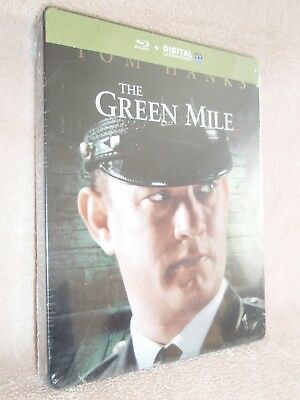 The Green Mile SteelBook [Blu-ray: Region Free, Bonus!] (Tom Hanks, David Morse)
