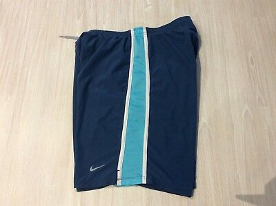 Nike Dri-Fit Boys/youth Long Sports Shorts Size L In Good Condition