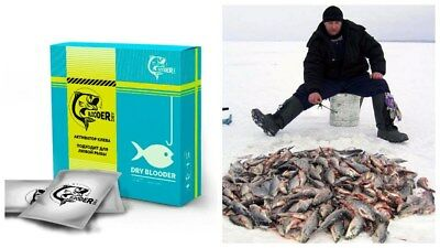 Dry Blooder - Bait Activator for Successful Fishing Attract. Fish Attract.