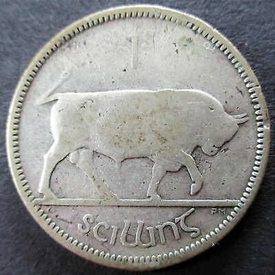 1 Shilling, Silber, 1933, Irland (BC_86)