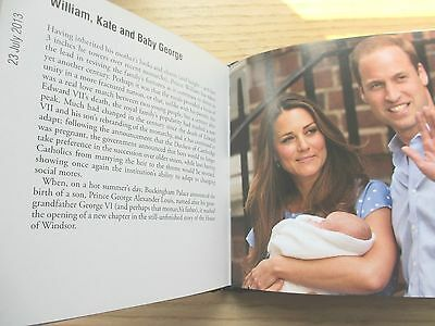 Royalty Book - Queen Elizabeth II Lady Diana Prince William Kate Middleton
