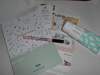 MY LITTLE BOX lot n°9 asos et my little beauty liner+masque cheveux