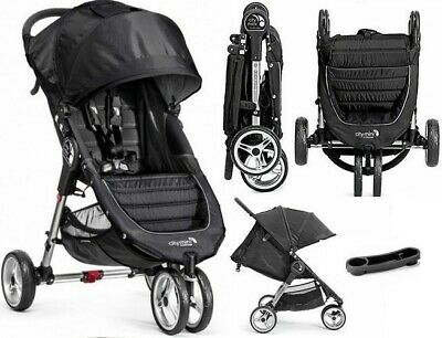 BABY JOGGER Buggy Stoller Kinderwagen Lightweight 3-wheel CITY MINI+TACKA+FOLIA