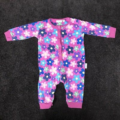 Pink Flower Babygrow 3-6m Baby & Toddler Clothing Clothing, Shoes & Accessories