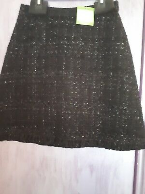 a91dfd346358a6 KATE SPADE SKIRT BNWT UK8 sparkle tweed skirt - $71.94 | PicClick