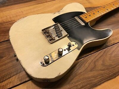 Tele/ Nocaster Style Relic by Vincent Guitars ,Switzerland