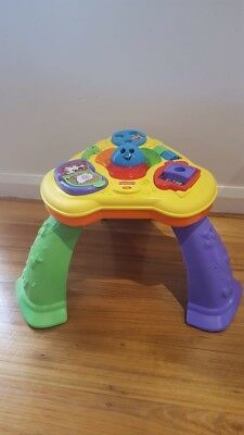 Fisher Price lights & Sounds activity table !!!