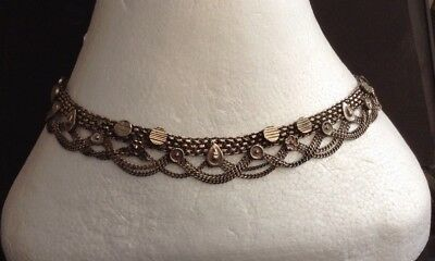 Antique/Vintage Indian Silver Tribal Necklace