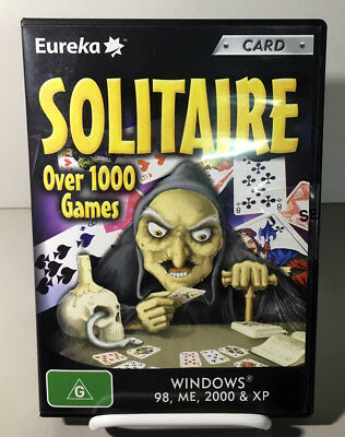 Interactive Software - 1000+ Solitaire Games NEW SEALED