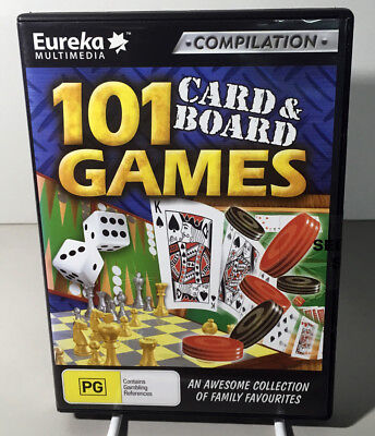 Software Compilation - 101 Card & Board Games NEW SEALED