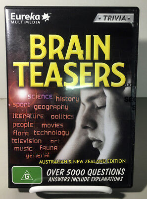 Interactive Software -  Brain Teasers / Trivia NEW SEALED