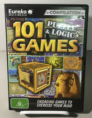 Software Compilation - 101 Puzzle & Logic Games NEW SEALED