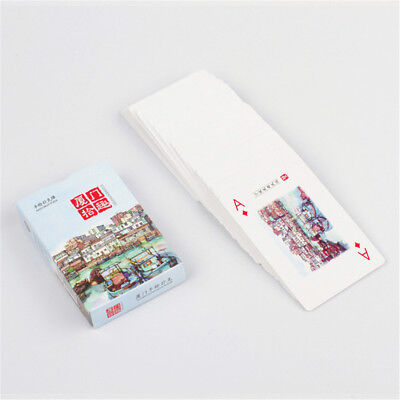 Boxed Hand Draw Pocker Paper Cards Deck for Card Games Tricks Magic Flourishes