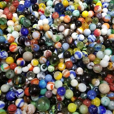 Over 30 Lbs Antique, Vintage, Old Estate Marbles Lot Collection AS FOUND. NICE!