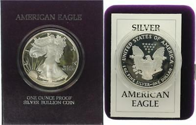 USA 1 Dollar 1986 - Walking Liberty - Silber - PP in OVP + Zertifikat