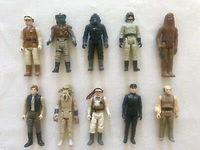 Star Wars Vintage - 10 Figuren Original Kenner