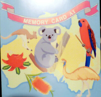 Janome Memory Craft 8000 / 9000 Australiana Memory Card