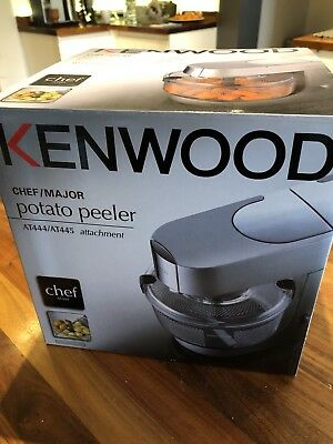 NEW! Original KENWOOD Chef Potato Peeler attachment, Unwrapped, Boxed