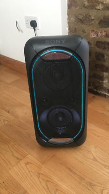 sony xb60 blutooth wireless rechargeable large speaker with lights