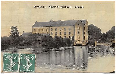 10-Saint Just-Moulin De Saint Just -N°C-416-G/0255
