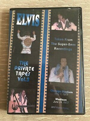 Elvis DVD The Private Tapes vol 3 Super 8mm concert footage from 1976 and 1977