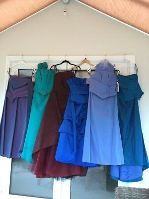 Perfect Buiseness Start Up!! Job Lot Of 6 NEW Prom/bridesmaids Dresses