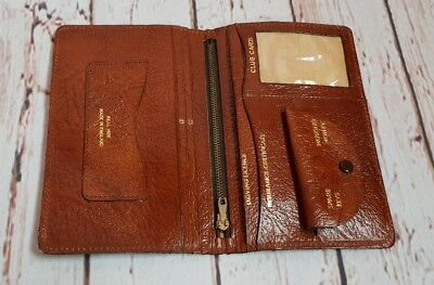 Vintage Soft Brown Leather Men's Wallet c1960s