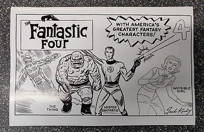 Fantastic Four #1 Kirby Hidden Jem Variant