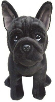 "Faithful Friends French Bulldog Black 12"" Soft Toy Dog"