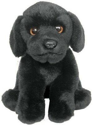 "Faithful Friends Labrador Black 12"" Soft Toy Dog"