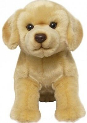 "Faithful Friends Labrador Yellow 12"" Soft Toy Dog"