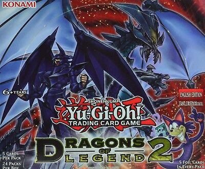Yugioh Dragons of Legend 2, DRL2, Super Rare, 1st Edition, Choose from list