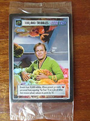 Star Trek CCG - REFLECTIONS - 100,000 TRILLBES - Box Topper Foil ST TNG CCG TCG