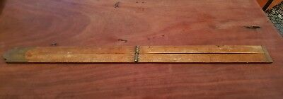Collectable vintage carpenters ruler
