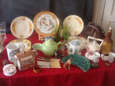 Superb Interesting Antique / Vintage Porcelain Collectables A Varied Attic Lot