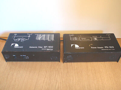 Nakamichi Subsonic-Filter SF-100 und PS-100