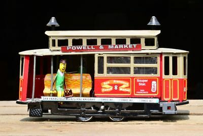 "PAYA GR23 ""Powell & Market"" San Francisco Cable Car Blech Tinplate ca. 17,5 cm"