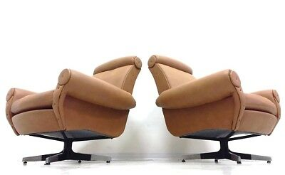 POLTRONE GIREVOLI De Sede Anni 60 VINTAGE WAIMEA INTERIOR DESIGN FORNITURE CHAIR
