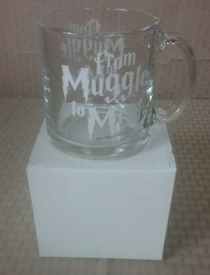 From Muggle To Mrs Clear Glass Mug Harry Potter