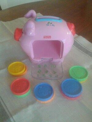 Fisher Price Laugh and Learn Pig Money Box