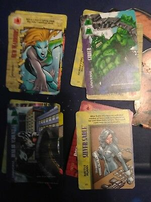 50 Marvel Overpower Cards