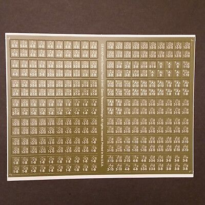 Europa Second Front Unpunched Counter Sheet CS 61A